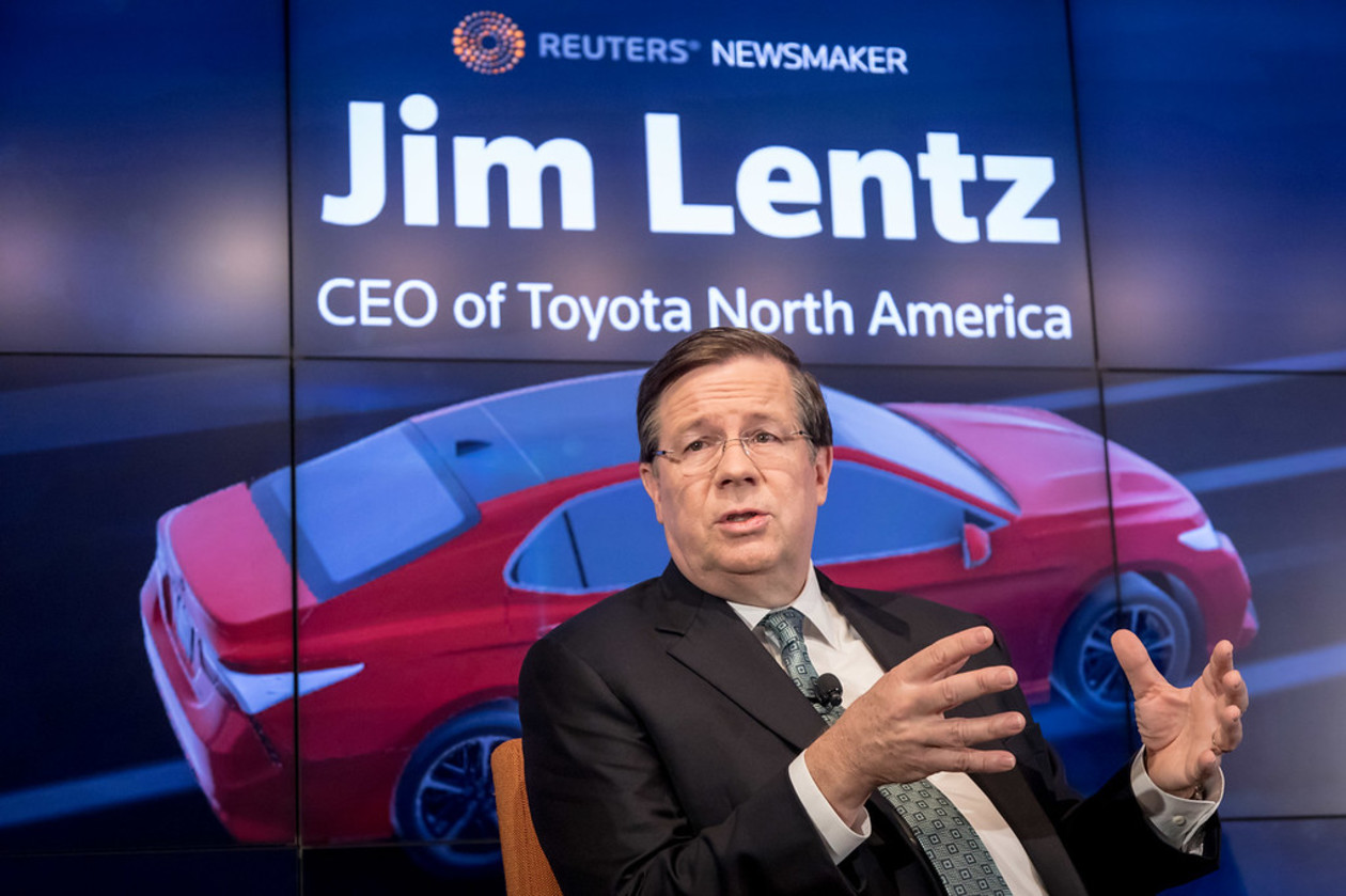 Reuters Newsmaker with Jim Lentz, CEO of Toyota North America