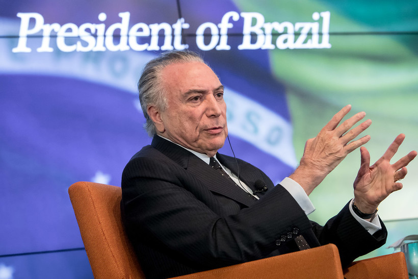 Reuters Newsmaker with Michel Temer, President of Brazil