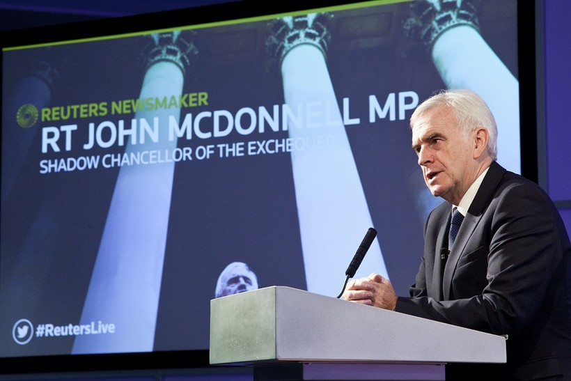 Reuters Newsmaker with RT Hon John McDonnell, Shadow Chancellor of the Exchequer